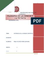 MONOGRAFIA Filosofia-criterios Verdad Cientifica-henri
