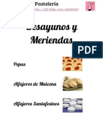 Catalogo Morenita Pasteleria