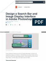 Design a Search Bar and Image