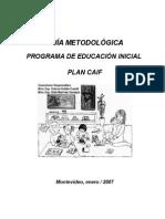 Guia Metodologica de Educación Inicial Final