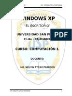 Clase 2.1 - Escritorio - Windows Xp