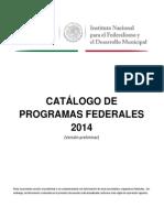 Programas Federales 2014