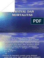 Survival Dan Mortalitas