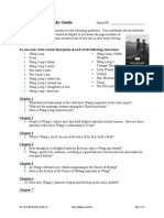The Good Earth Study Guide