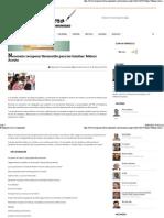 03-03-15 Necesario recuperar Hermosillo para las familias. Maloro Acosta