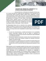 03-03-15 Comunicado Conjunto - Senado ySRE