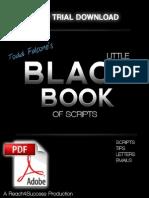 Todd Falcone y Su Pequeño Libro Negro de Scripts