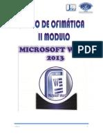 Ofimatica II Modulo