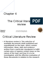 Research Methods for buisness -Ch04