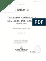 Tratado Completo Del Arte Del Canto - Manuel García