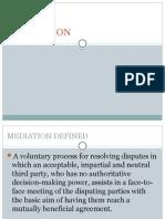 Mediation Adr