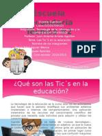 Las TIC`S en la educaciòn