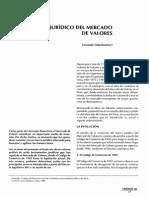 El Marco Jurídico Del Mercado de Valores