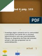 6. Actividad Pag. 103
