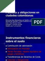 Plusvalia Obligaciones Ciudades-Borrero Oscar-Agosto 2011-Presentacion