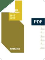 RELATÓRIO  DO SARESP 2010 - MATEMÁTICA.pdf