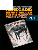 Henry Miller and the Making of Tropic of Cancer