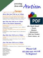 Updated Autism Flyer 03 02 15