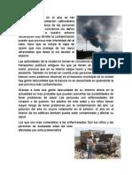 La Contaminación en El Aire