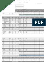 Presupuesto Modelo Por Etapa - General