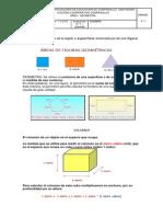 Volumen , Perimetro y Area
