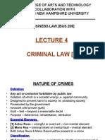 Lecture 4 - Criminal Law [1]