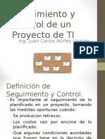 Seguimiento y Control de un Proyecto de TI