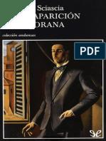 La Desaparicion de Majorana - Leonardo Sciascia