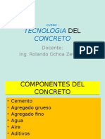 Tecnologia Del Concreto