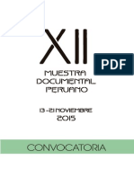 Bases XII Muestra Documental 2015