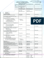 UPM Academic Calendar 2015-2016