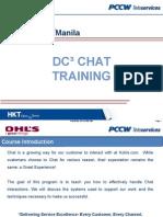 dc chat training