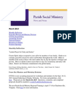 March 2015 PSM News and Notes