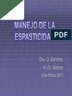 MANEJO ESPASTICIDAD