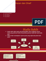 Hadis Sahih Hasan Dhaif