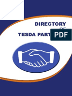 Directory of Tesda Partners