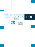 Bibliografia Sobre Sistemas Electorales