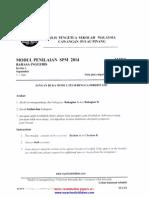 Penang Trial SPM 2014 BI 1,2