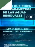 Leyes Sobre Aguas Residuales