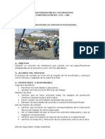 Caracterización - Proceso de Vaceado de Concreto