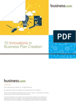 10 Innovations in Business Plan Creation