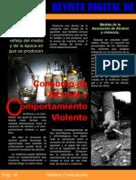 Consumo de Alcohol y Comportamiento Violento