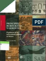 Principes, Burócratas y gerentes. Adrián Acosta Silva.