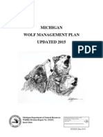 DNR Wolf Plan 2015 Update