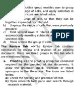 Excel - Outline MS Excel - 2013