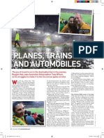 Planes, Trains and a Socceroos Cyclone pt1