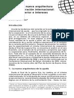 Brasil en la nueva arquitectura de la cooperación internacional