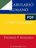 Vocabulario Rumano
