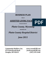 Tab 8 - Assisted Living Facility Business Plan