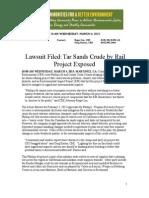 CBE Press Release P66 Rodeo PRP ComplaintFiled